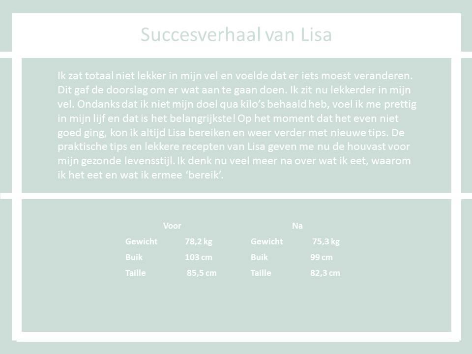Succesverhaal Lisa the body practice