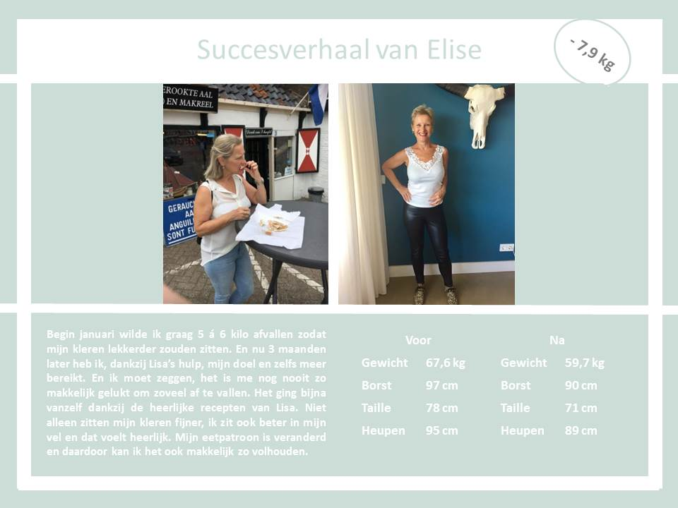Succesverhaal Elise the body practice