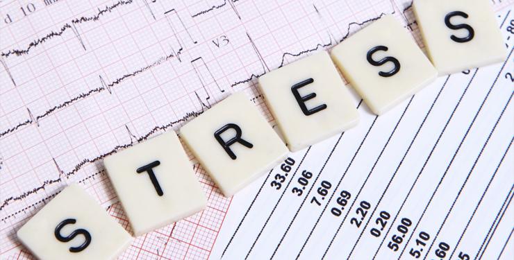 dik worden van stress, kan dat?