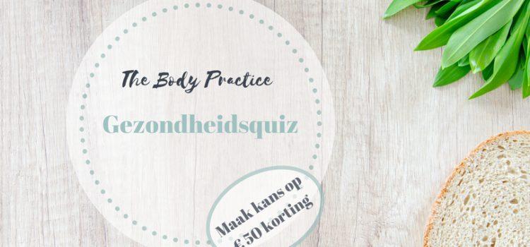 Gezondheidsquiz the body practice