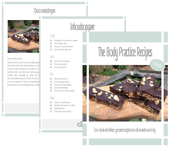 gezonde recepten E-book The Body Practice Recipes