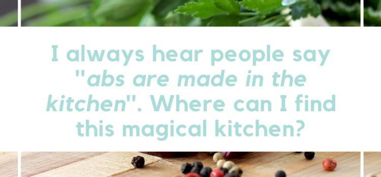 zichtbare buikspieren voedingsadvies den bosch