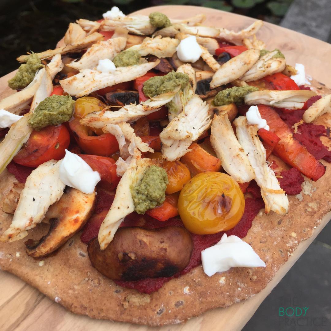 pizza gezonde recepten
