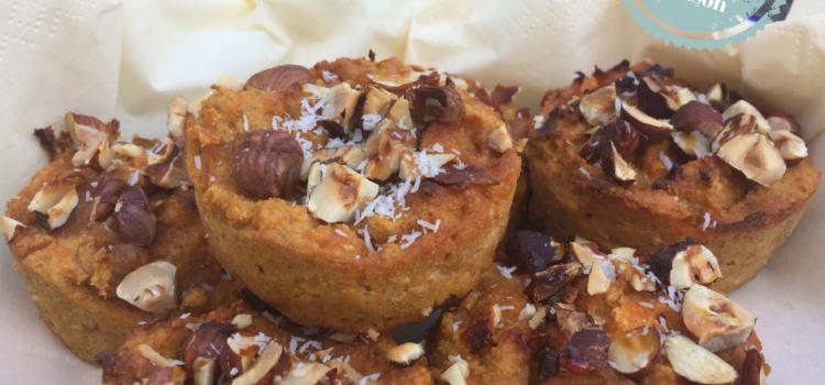 Amandel wortel muffins Holiday Season