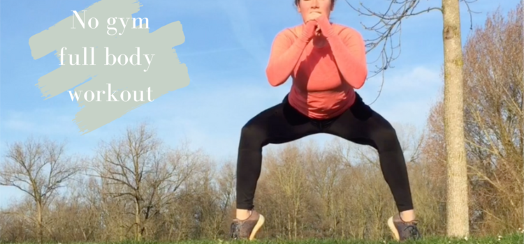 Full body no gym workout