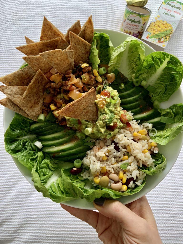 vegetarische mexicaanse bowl